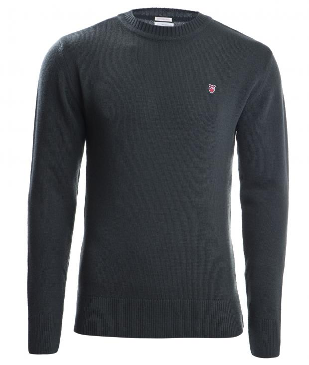 Retro Round Neck Knit from Glore