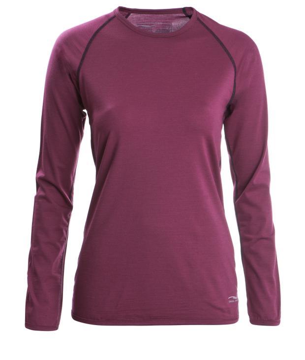 Shirt regular langarm Women tango red from Glore