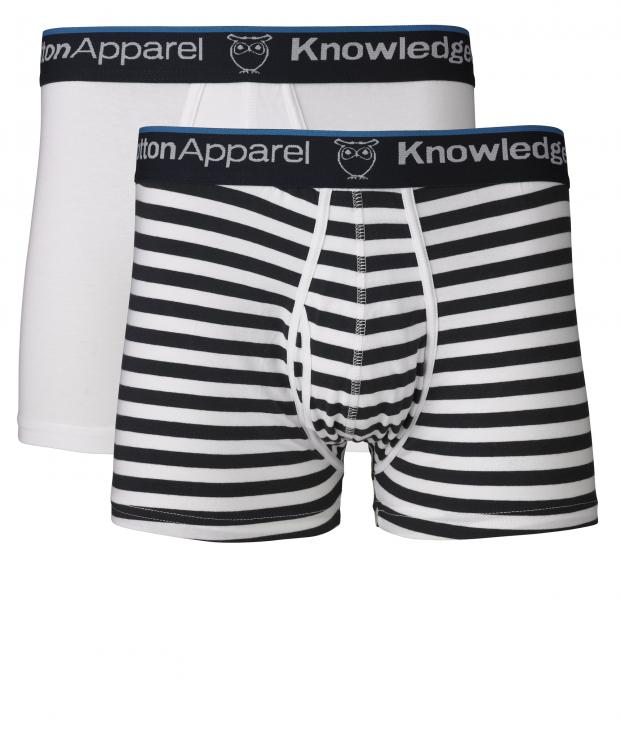 Underwear 2pack Striped/Solid Total Eclipse from Glore