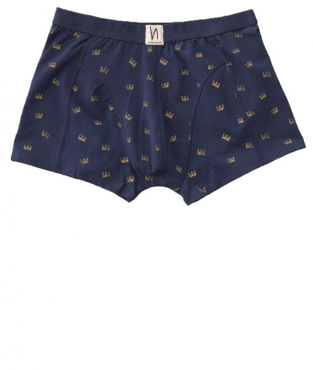 Nudie Jeans Boxer Briefs Crowns midnight S