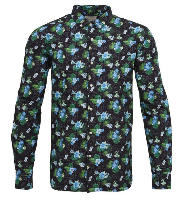 Concept Print Shirt Poplin from Glore