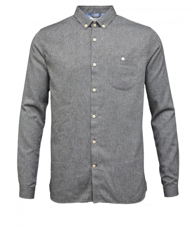 Solid Col. Flanel Shirt - GOTS from Glore
