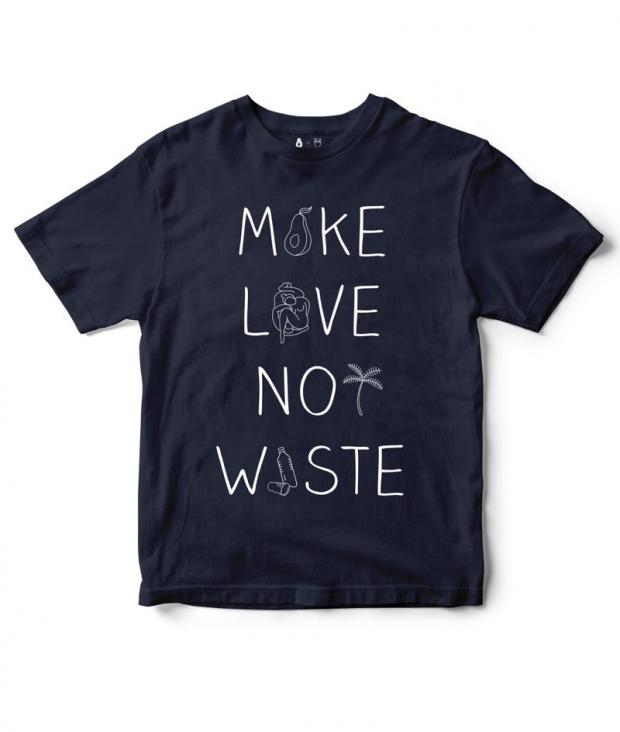Knowledge Cotton Apparel Make Love Not Waste To...