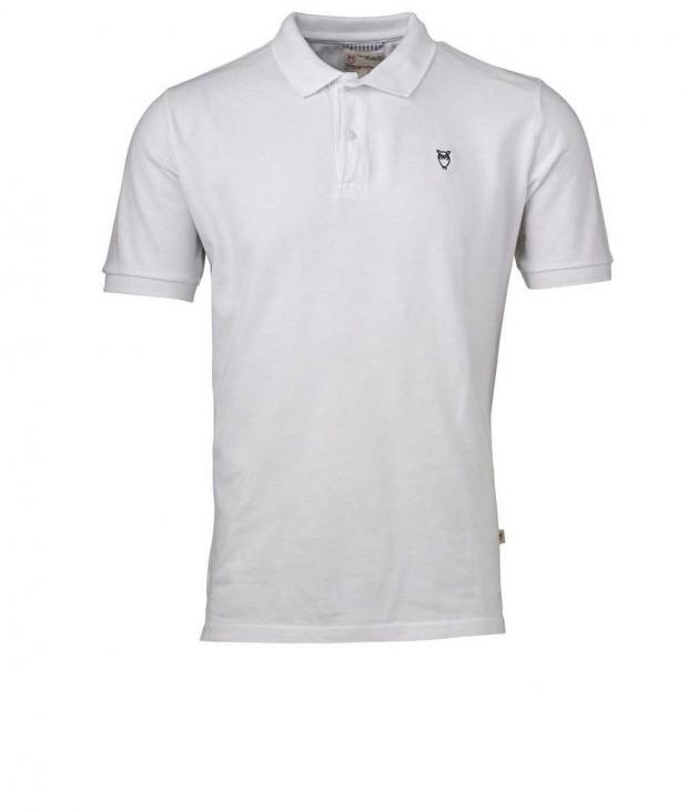 Pique Polo GOTS Bright White from Glore