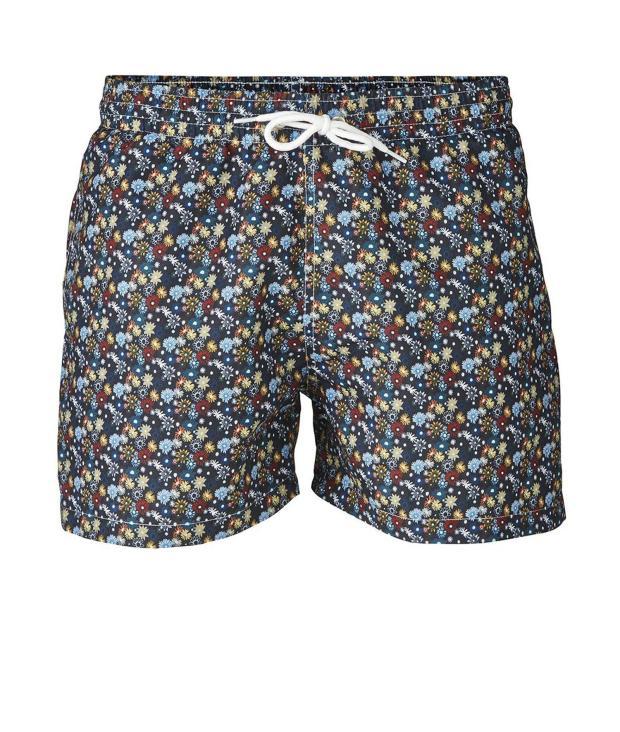 Swim Shorts W/ Flower Print from Glore