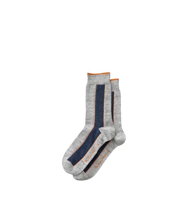 NUDIE JEANS Olsson Selvage Socks onesize light grey