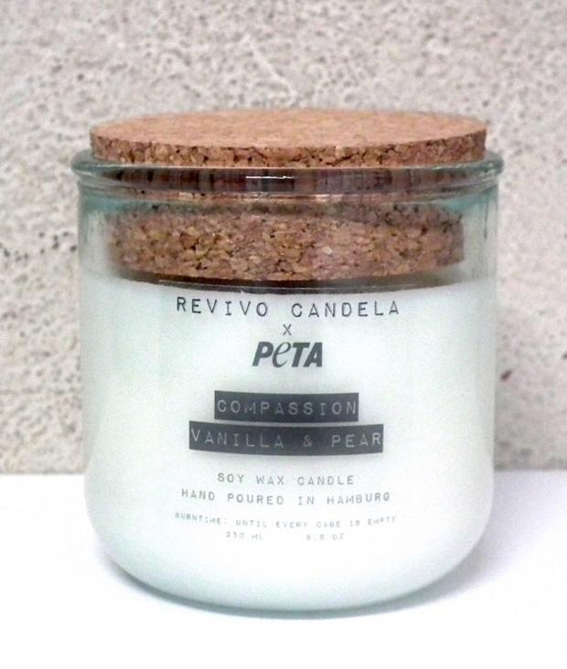 REVIVO CANDELA PETA Edition: Compassion Vanilla...