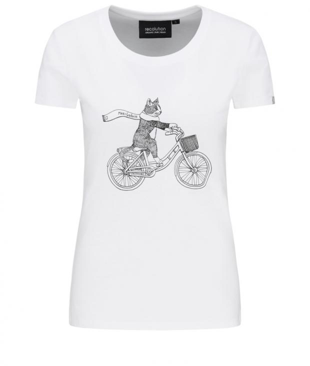 Basic T-Shirt #CAT white M from Glore