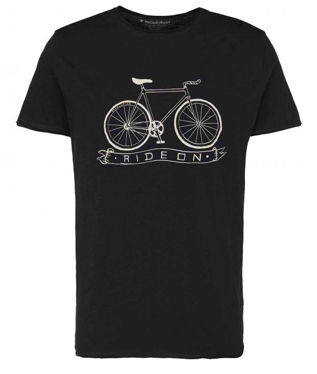 T-Shirt Casual #RIDEON black from Glore