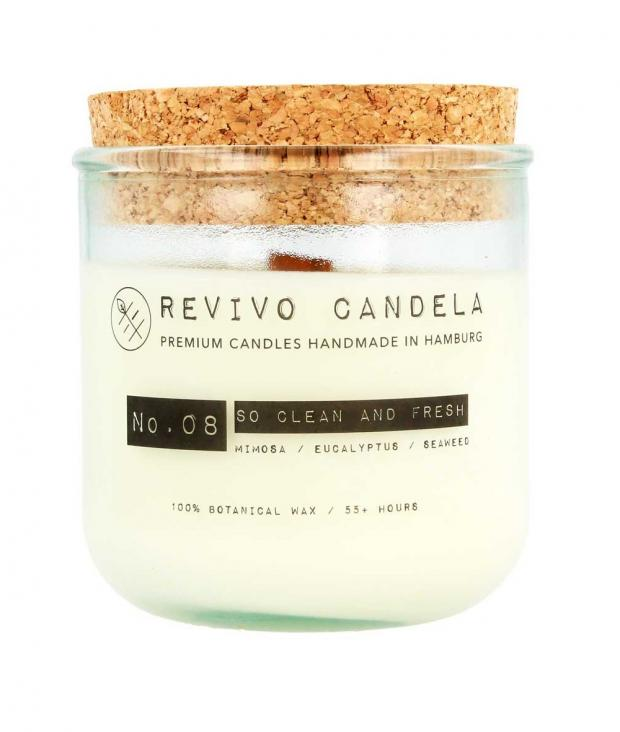 REVIVO CANDELA No. 08 So Clean & So Fresh