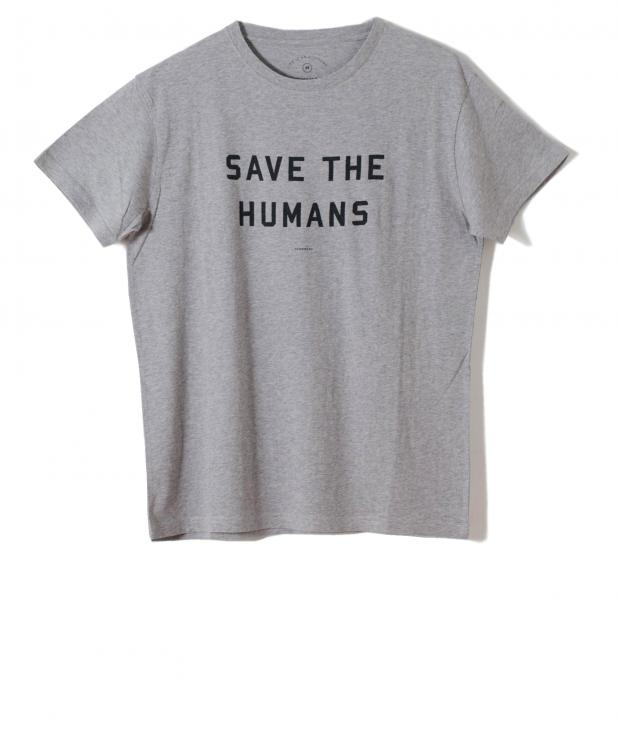 T-Shirt SAVE THE HUMANS from Glore