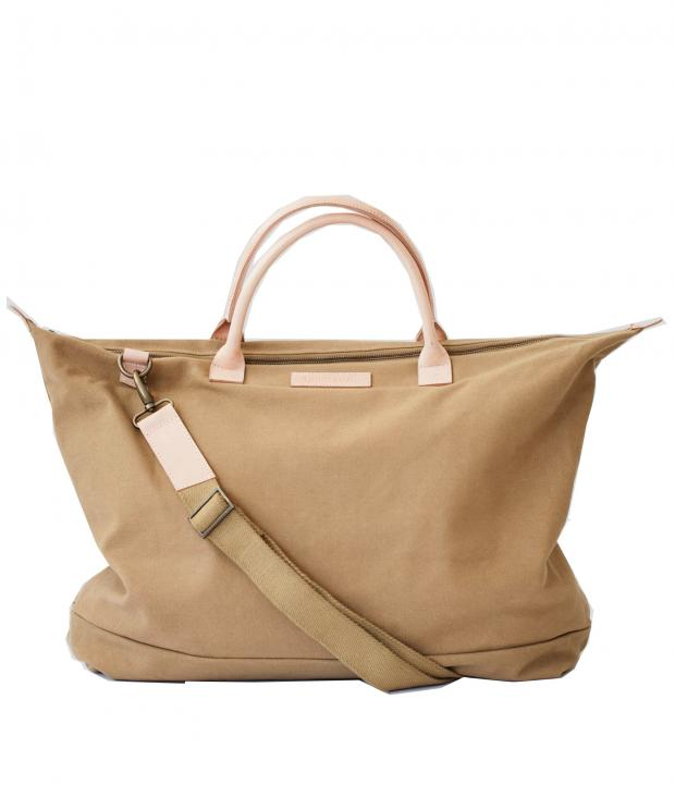 Travel Bag Tobacco Brown from Glore