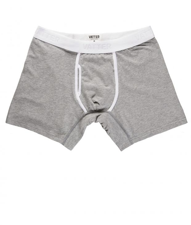 Boxer Brief Classy Claus grey melange from Glore