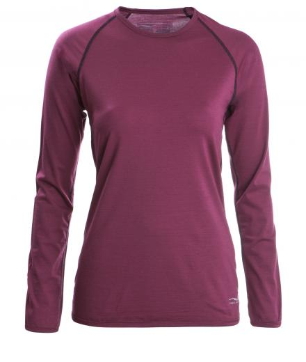 Engel Sports Shirt regular langarm Women tango red | S
