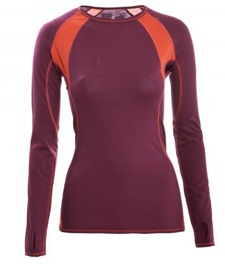 ENGEL SPORTS Shirt langarm Women tango red/spicy | M