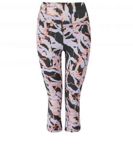 Wellicious Kickoff 3/4 Leggings with Print