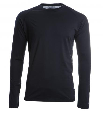 ENGEL SPORTS Shirt regular langarm Men black | M