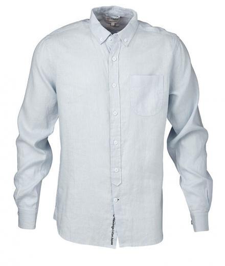 Knowledge Cotton Apparel Linen Shirt GOTS
