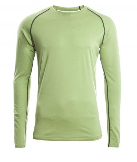 ENGEL SPORTS Shirt regular langarm Men lime | S