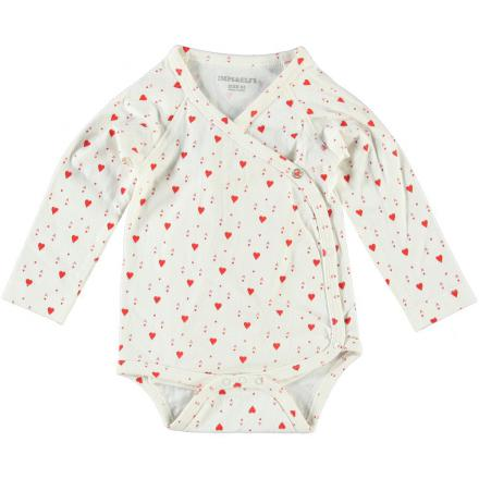 Imps & Elfs Body Long Sleeve Hearts 74 | Milk