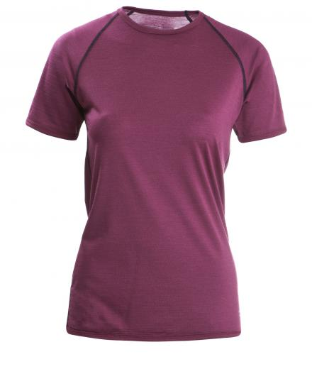 ENGEL SPORTS Shirt regular kurzarm Women tango red | M