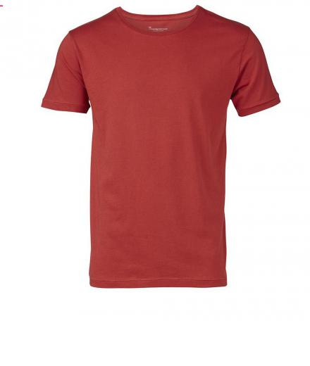 Knowledge Cotton Apparel Basic Regular Fit O-Neck Tee Bossa Nova | M