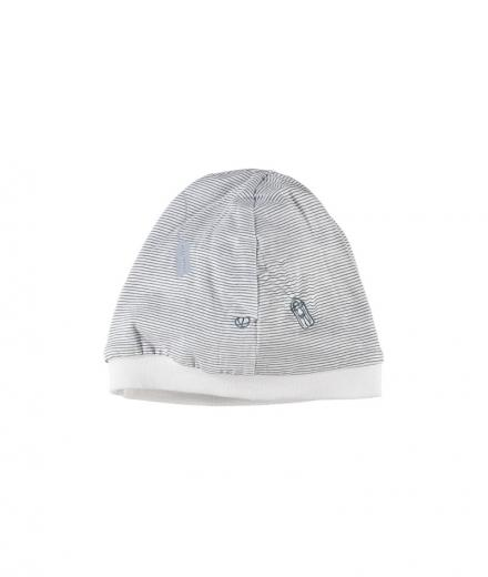 Imps & Elfs Hat Striped  M | Oil Blue