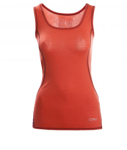 ENGEL SPORTS Tank Top Women spicy/tango red | S