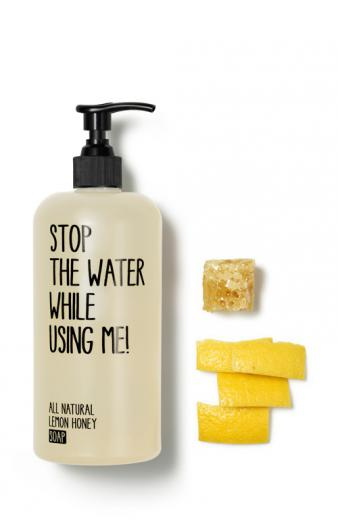 STOP THE WATER WHILE USING ME! Soap Natural Lemon Honey