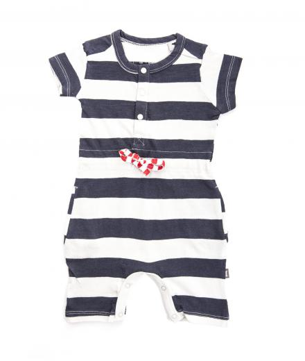 Imps & Elfs Summeronesie 62 | Blue/Grey