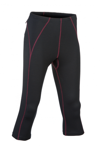 ENGEL SPORTS Leggings 3/4 Women black | S