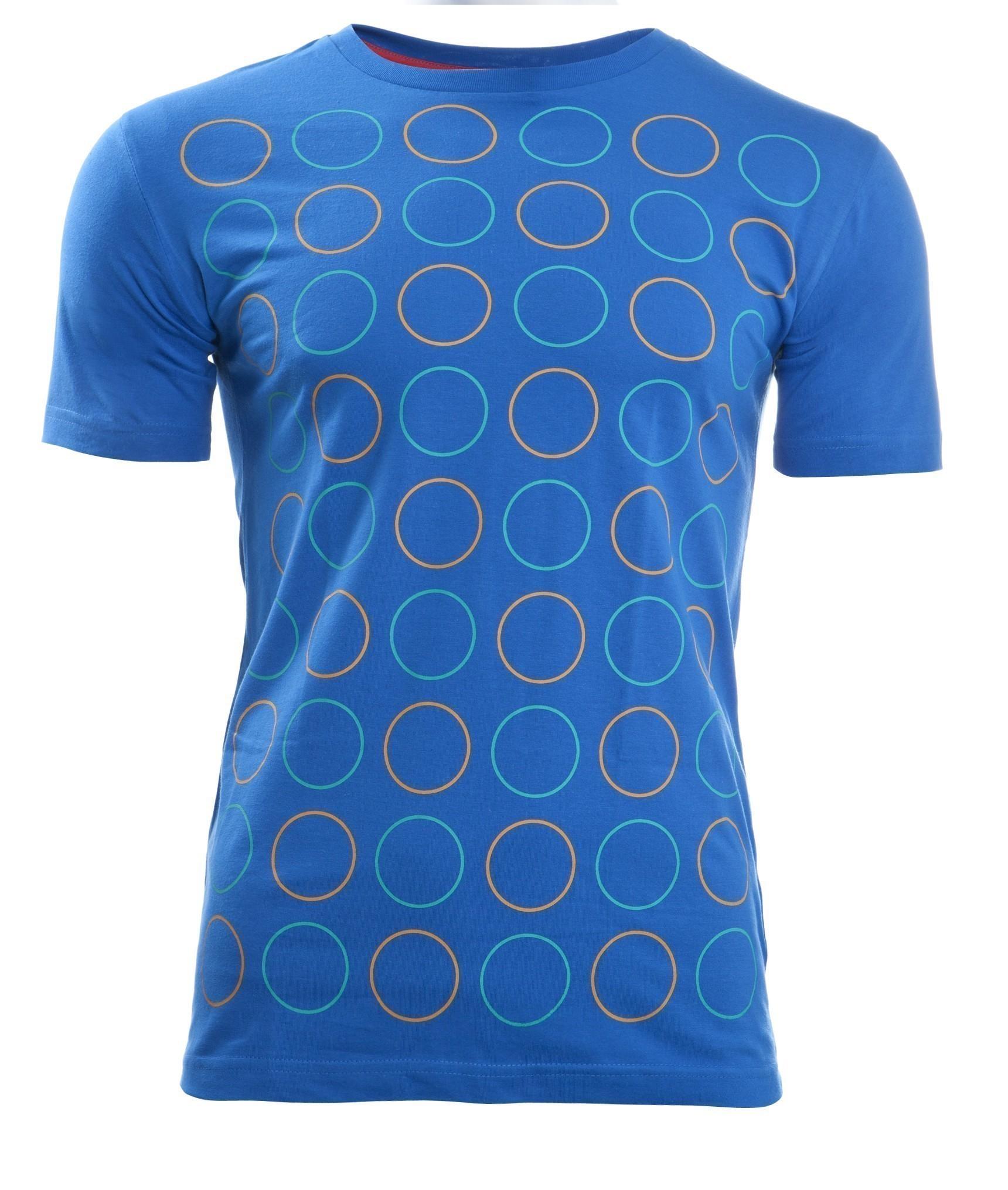 Thokkthokk twin polka t shirt french blue t shirts for French blue t shirt