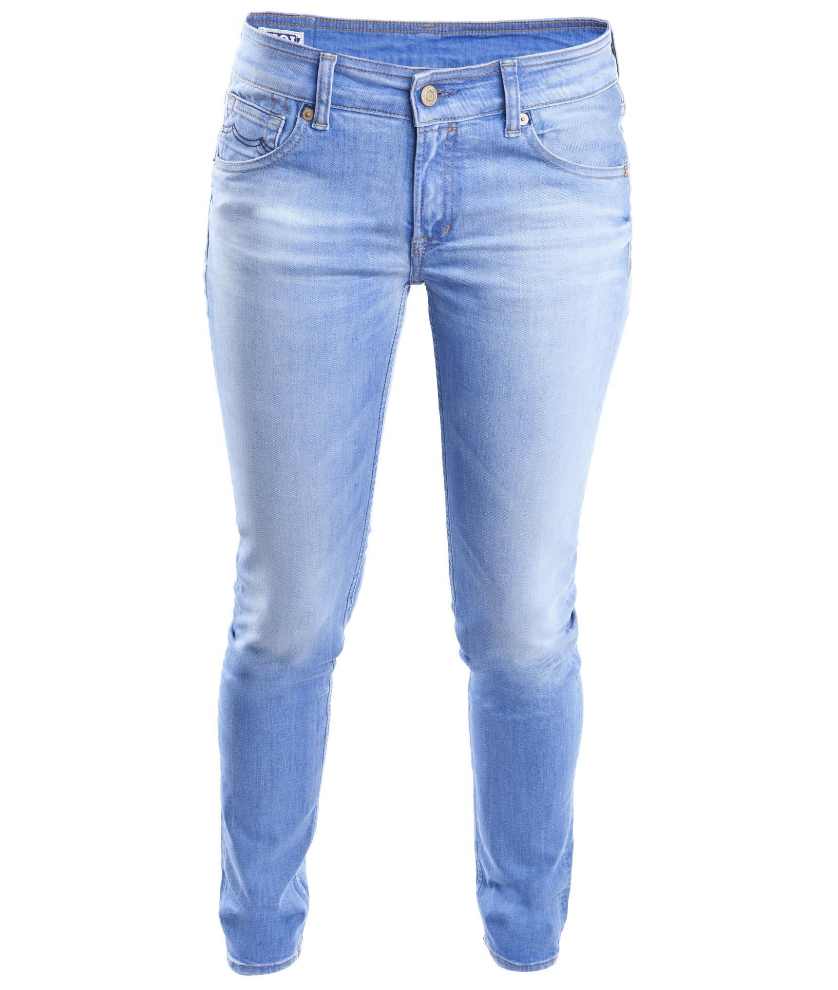 Kings Of Indigo   K.O.I. Juno Organic French Blue Worn U2022 Jeans Bio Jeans  Für Damen Bei Glore U2022 Glore