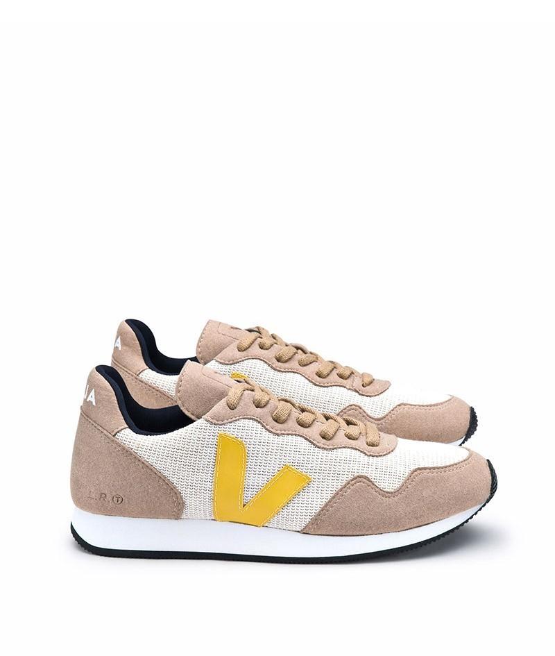 veja woman sdu j mesh natural miel gold yellow sneaker vegane sneaker bei glore kaufen glore. Black Bedroom Furniture Sets. Home Design Ideas