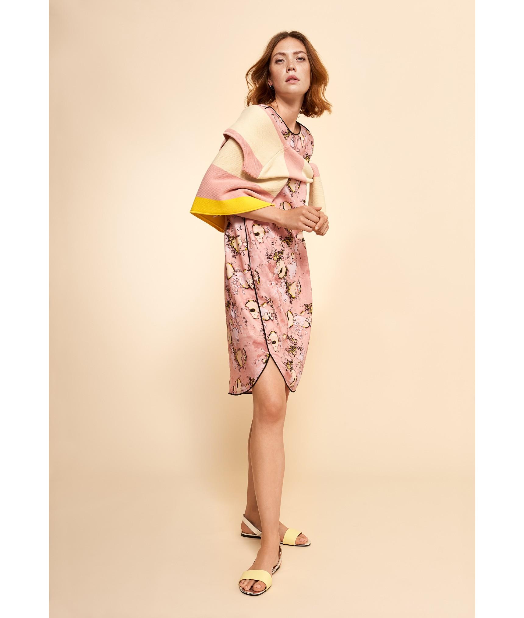 ebdf56d8c114 LANIUS Kleid Print Dreamland Rose | 36