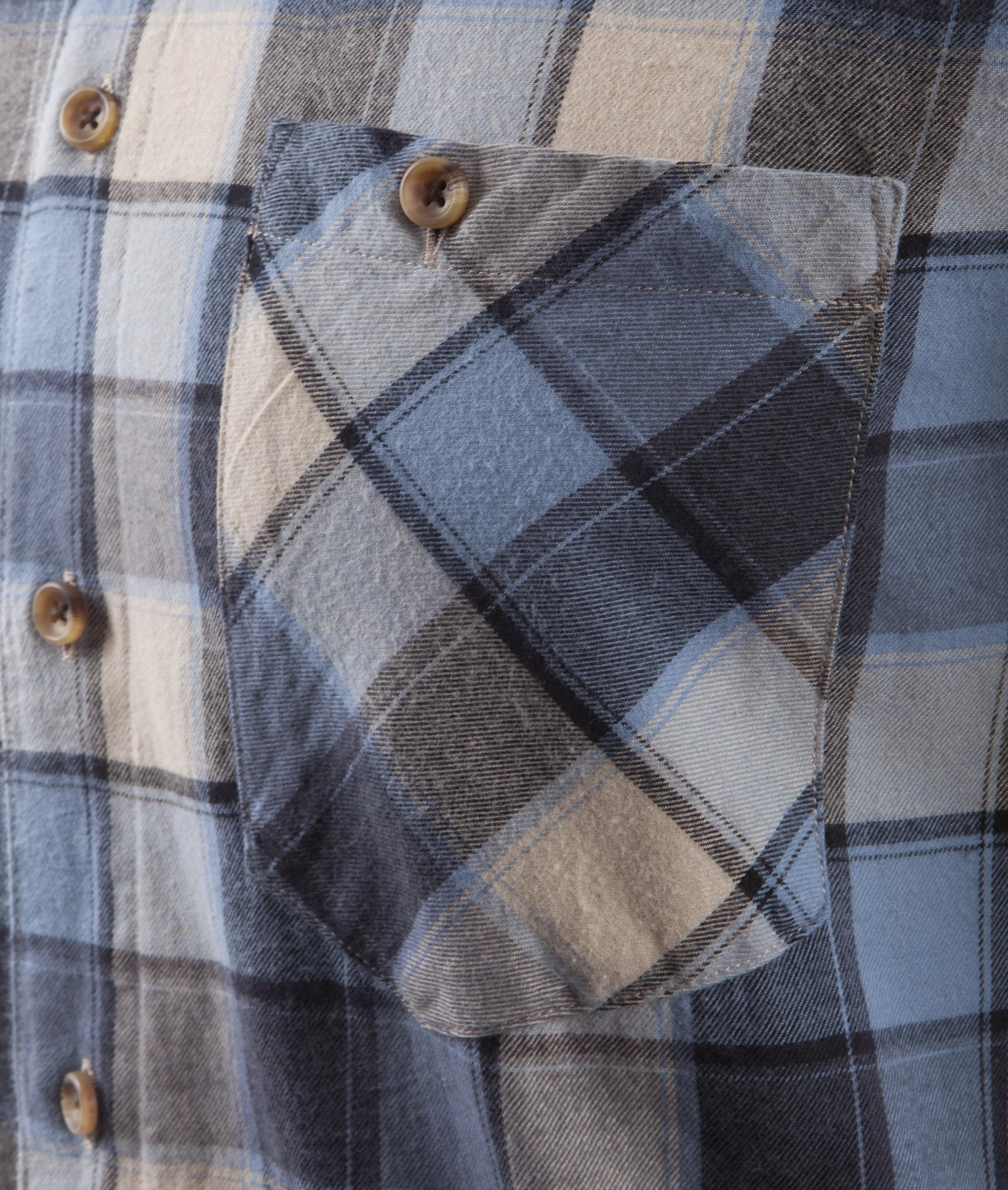 nudie jeans stanley light flanell check hemden bio hemden f r herren bei glore kaufen glore. Black Bedroom Furniture Sets. Home Design Ideas