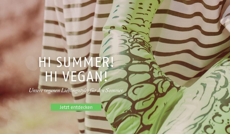 Unsere veganen Lieblingsstyles für deinen Sommer.