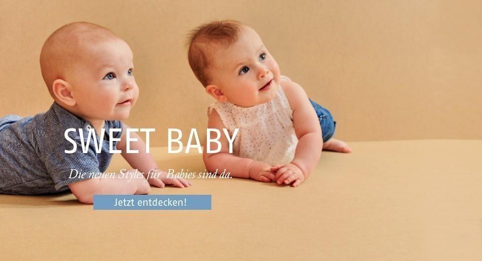 Babykleidung aus Bio-Baumwolle