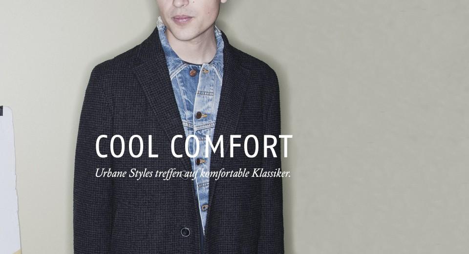 Urbane Styles treffen auf komfortable Klassiker.