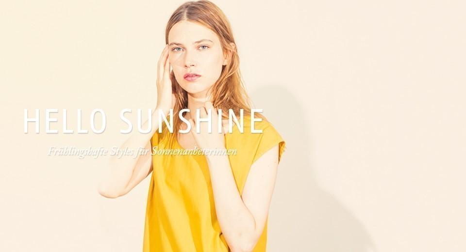 Frühlingshafte Styles für Sonnenanbeterinnen