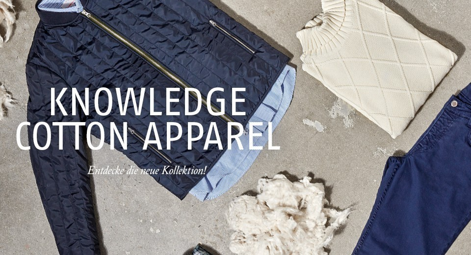Die neue Kollektion von Knowledge Cotton Apparel ist da!