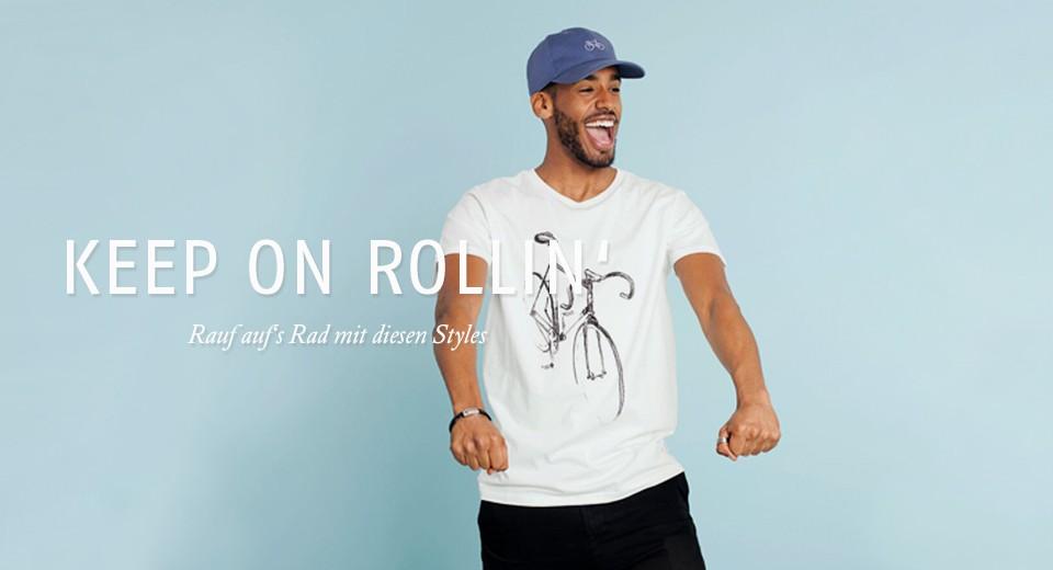 Rauf auf's Rad mit diesen Styles
