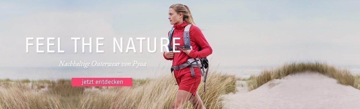 2995cccaabcaaf Entdecke die neue Kollektion · Jetzt nachhaltige Outdoorbekleidung von Pyua  entdecken ...