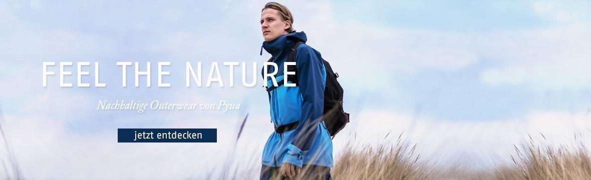 d99f2374aee7d1 Outdoorbekleidung aus recycelten Materialien von Pyua · Entdecke die neue  nachhaltige Menswear ...