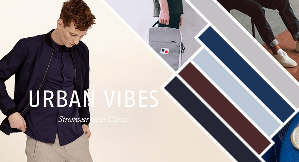 Streetwear meets Classic.