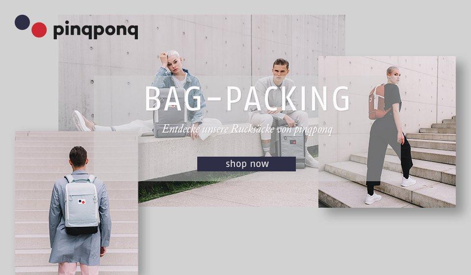 Entdecke unsere Rucksäcke von pinqponq