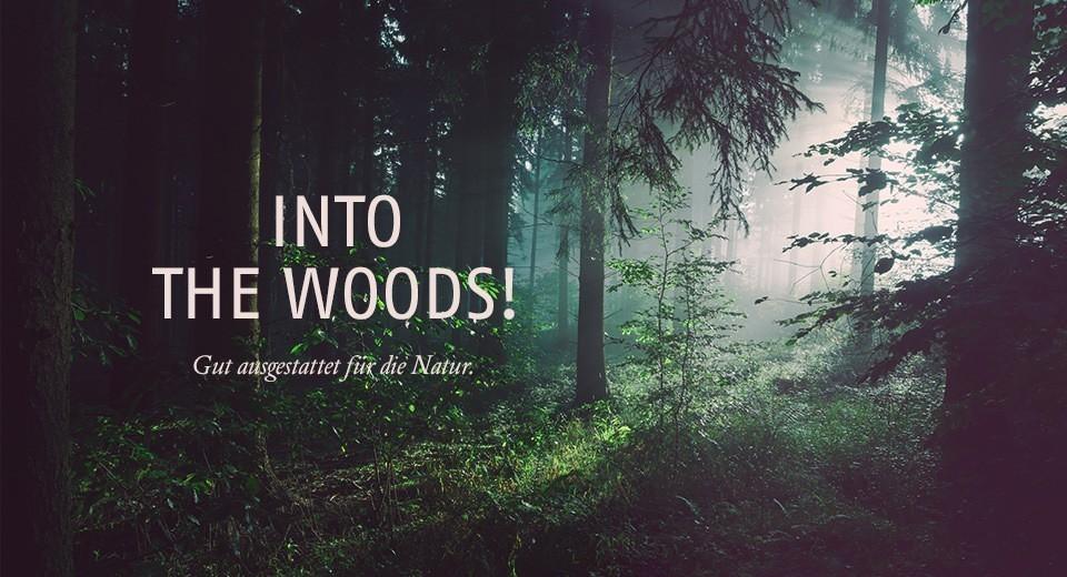 Gut ausgestattet für die Natur