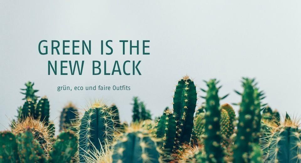 grün, eco und faire Outfits