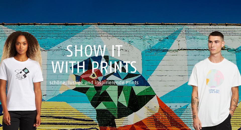 schöne, lustige und inspirierende Prints