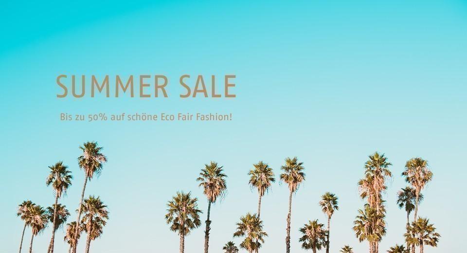 Bis zu 50% auf schöne Eco Fair Fashion!
